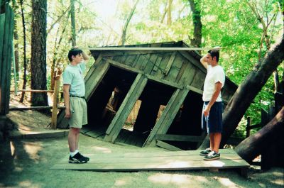 Back Yard - The Oregon Vortex and location of the House of Mystery